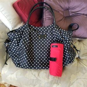 Kate Spade Polka Dot Diaper Bag